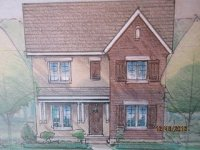 House #4--40 foot lot